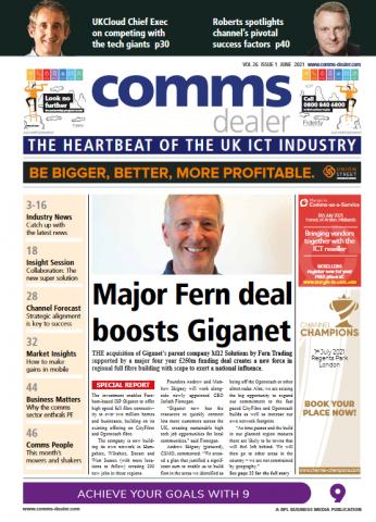 Comms Dealer June issue 2021