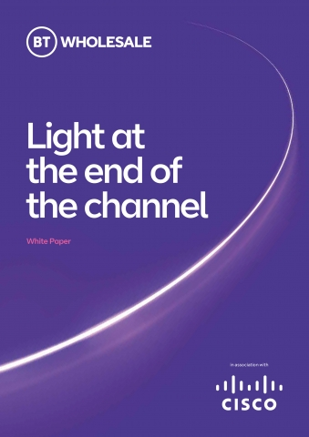 Cover of a whitepaper, coloured purple